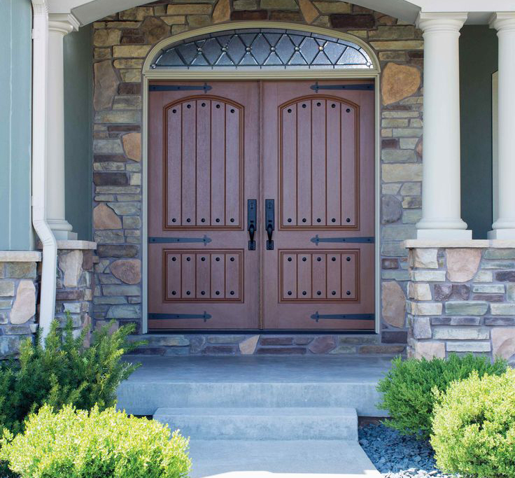 Available In Aluminum And Steel And Crafted To Custom Fit Your Entryway,  Our Roundtop And Arch Top Doors Sport A Wide Variety Of Styles And Colors  That ...